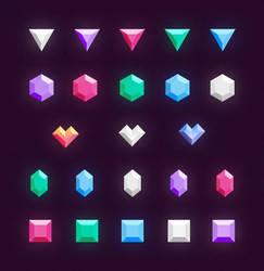Freebie // Icons: Gems And Diamonds by PSDchat