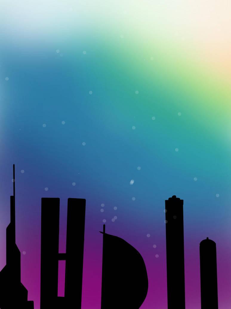 COLORFUL SKY by nnaunn