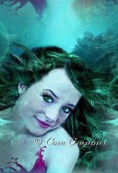 Mermaid Teles by CoraGraphics
