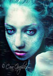 Deep Mermaid by CoraGraphics