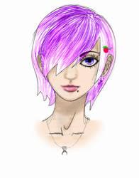 this girl I drew... by roxxychan