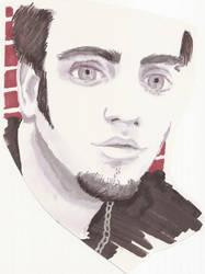 eric's portrait by roxxychan