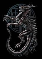 Fyaeron Metal Dragon by DragonosX