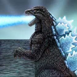 Heisei Godzilla by DragonosX