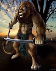 Leo Warrior by DragonosX