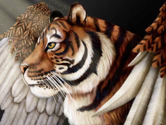Tigerwings by DragonosX