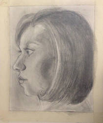 Self Portrait by lionandwolfe