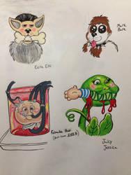 Various GPKs by lionandwolfe