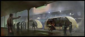 Blade Runner 2 C art by tbtb