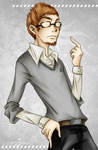 AC Portrait II- Shaun Hastings by Waterqueen-san