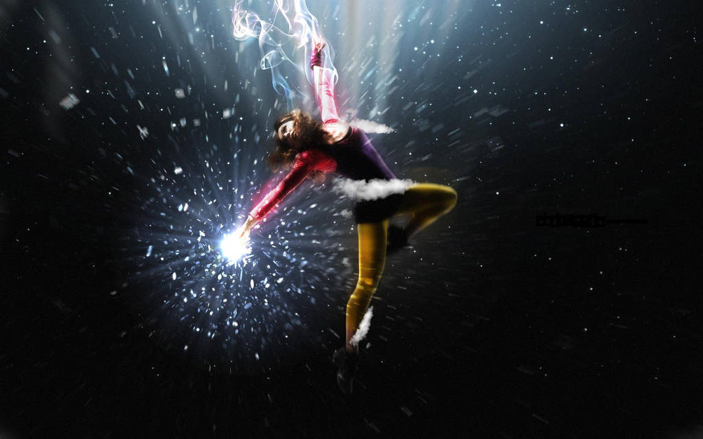 Flying Girl by DarkEagle2011