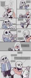 .Undertale Fancomic: Annoying Dog - Page 5.+ by Kintanga