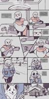.Undertale Fancomic: Annoying Dog - Page 1.+ by Kintanga
