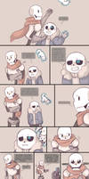 .Undertale Fancomic: Annoying Dog - Page 9.+ by Kintanga
