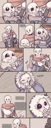 .Undertale Fancomic: Annoying Dog - Page 16.+ by Kintanga