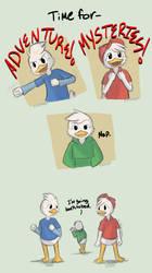 .DuckTales: Some days.+ by Kintanga