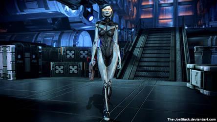 Mass Effect - EDI wallpaper by ShaunsArtHouse