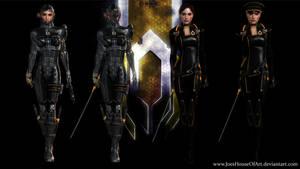 Mass Effect Occitania - Katherine Petrovsky by ShaunsArtHouse