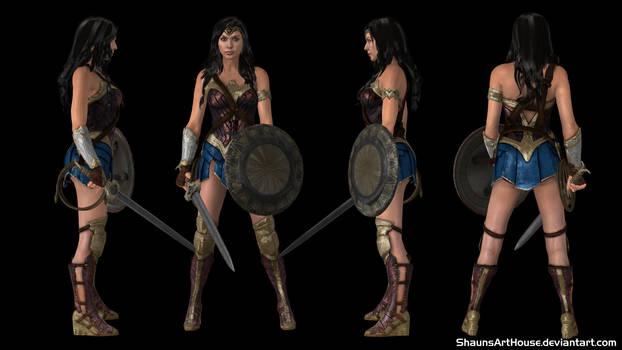 Wonder Woman - Gal Gadot by ShaunsArtHouse