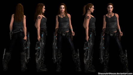 GOW Redemption - Kat Barrick Casual by ShaunsArtHouse