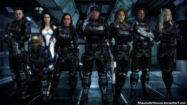 Mass Effect Occitania - The Marines by ShaunsArtHouse