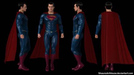 Superman - BvS Henry Cavill by ShaunsArtHouse