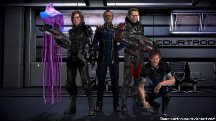 Mass Effect Occitania 2: New Alliance by ShaunsArtHouse