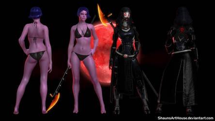 Mass Effect Occitania 2 - Cara'Cello Nar Zeema by ShaunsArtHouse