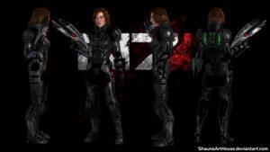 Mass Effect Occitania 2 - Alisa Loginova by ShaunsArtHouse