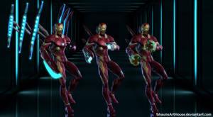 Iron Man - Infinity War 3D model by ShaunsArtHouse