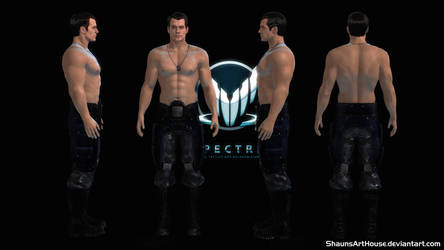 Mass Effect Occitania 3 - Reeves Romance Option by ShaunsArtHouse