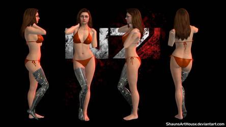 Mass Effect Occitania 3: Morgan Bishop Romance by ShaunsArtHouse