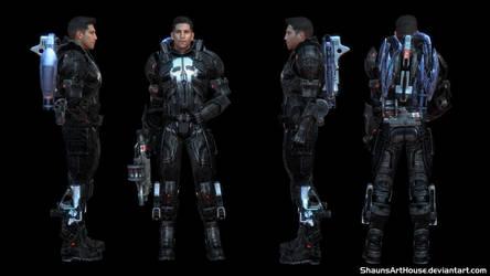 Mass Effect Occitania - Lucky Keys by ShaunsArtHouse