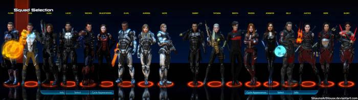 Dual Screen Mass Effect Occitania DLC Humans by ShaunsArtHouse