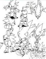 sonic cd sketch by trunks24