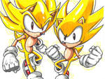 SUPER SONICS by trunks24