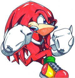 knuckles by trunks24
