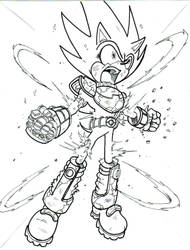 wat if zonic became SUPER ZONIC...LA by trunks24
