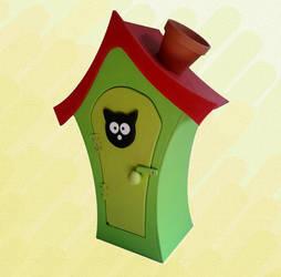 Mr. Cats House by Raxfox