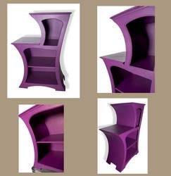 Dancing Cabinet - Cheshire Cat NEW by Raxfox