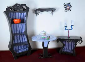 The Nightmare before Christmas Room by Raxfox