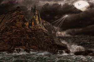 Castle of the Damned by BrankaArts