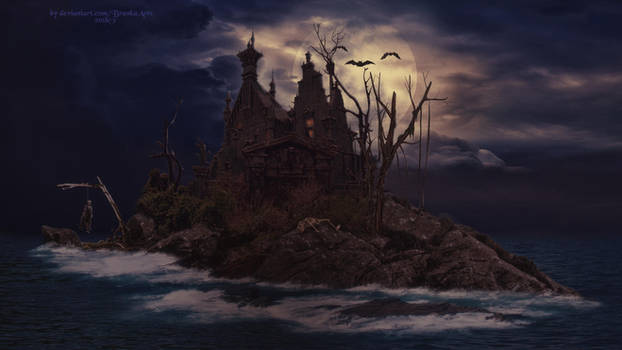 The Haunted House by BrankaArts