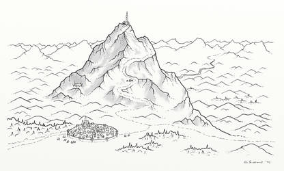 Alormir, in the Shadow of Mount Havenguard by whirlpool