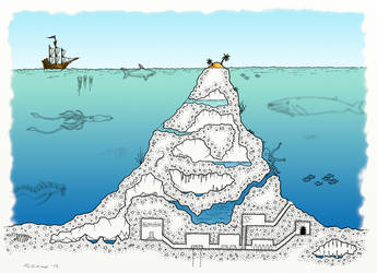 Ghost Sea Underwater Mount by whirlpool