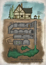 Beneath the Cottage by whirlpool