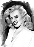 Marilyn Monroe_Light by tainted-orchid