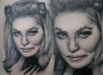 Julie Newmar by tainted-orchid