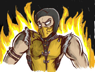 Scorpion quickie by friendbeard