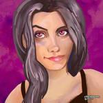 _daily_paint_18th_nov_2018_girl angled by friendbeard